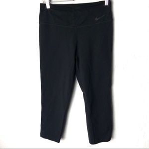 🎃Nike Black DriFit Training Capri Pants Medium